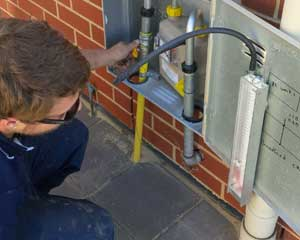 gas line repairs are part of our Carmichael plumbing services